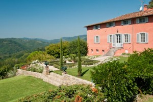 Beautiful villa near Lucca