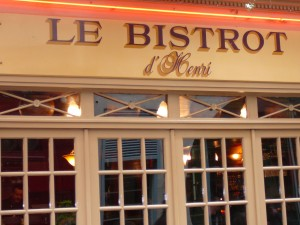 Paris Bistro near our Princesse apartment