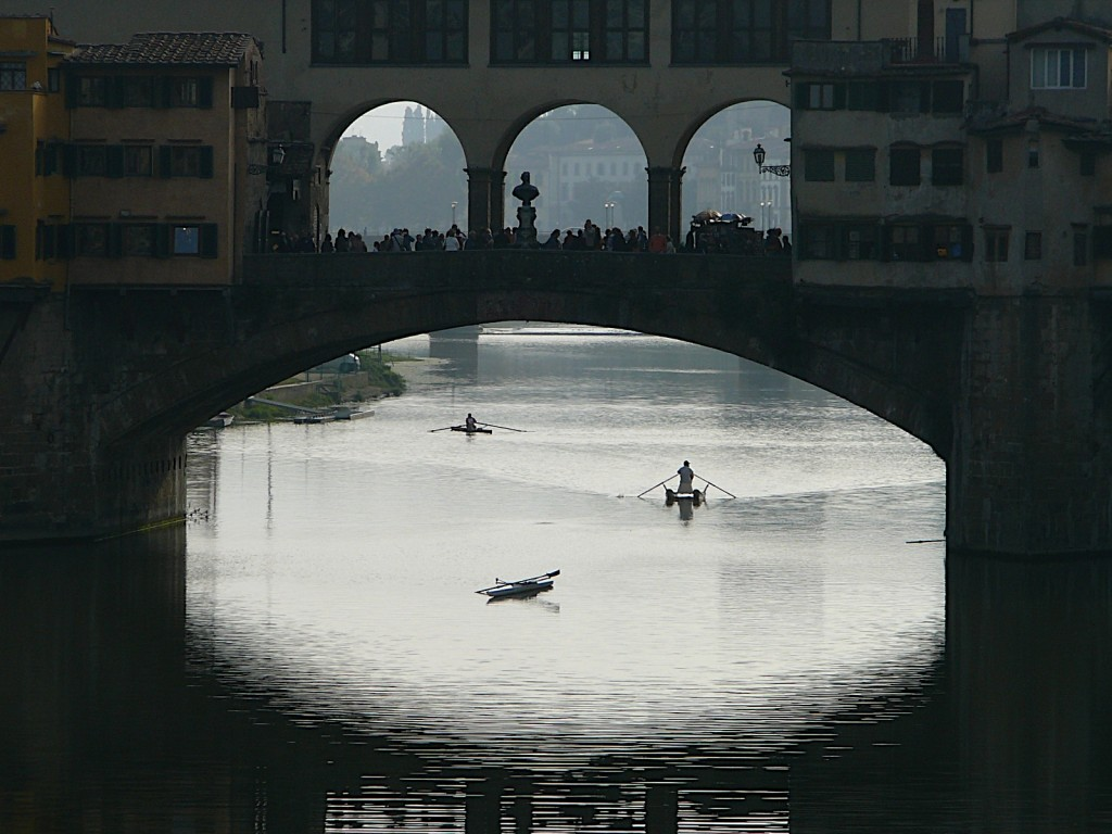 Staying cool in Florence