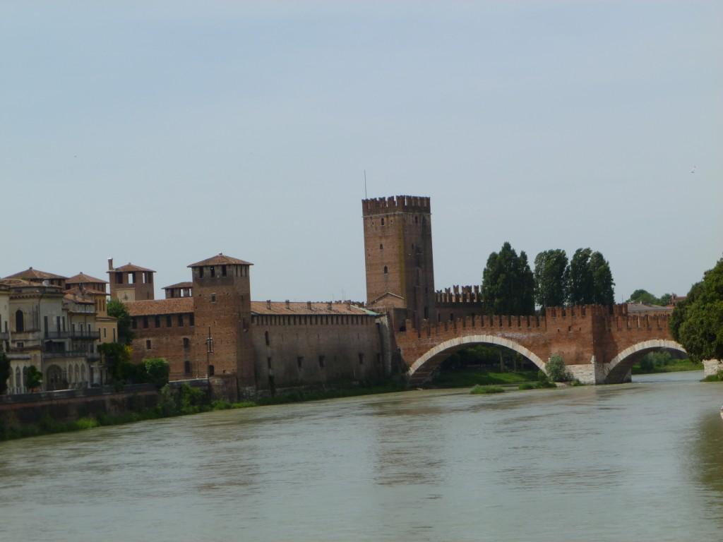 Verona - Ponte Scaligero - the beauty of Verona its quintessential bridge
