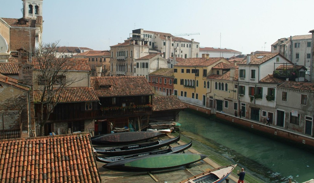 Gondola View in Veneto