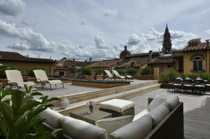 Paradise Terrace in Florence